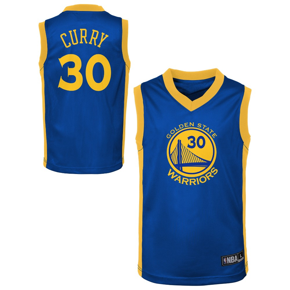 Golden State Warriors Toddler Player Jersey 4T, Toddler Boy's, Multicolored