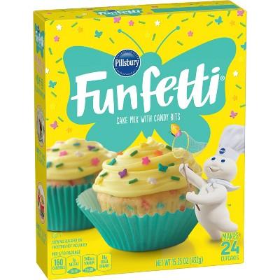 Pillsbury Doughboy Funfetti Spring Cake Mix - 15.25oz