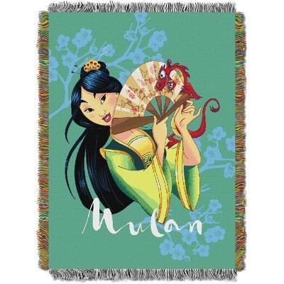 Princess Mulan Tradition Tapestry Throw