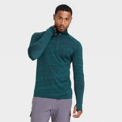 Men's Seamless 1/4 Zip Pullover - All in Motion™