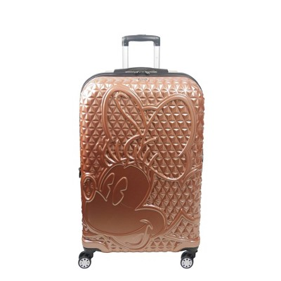 FUL Disney Minnie Mouse 29'' Hardside Suitcase - Rose Gold