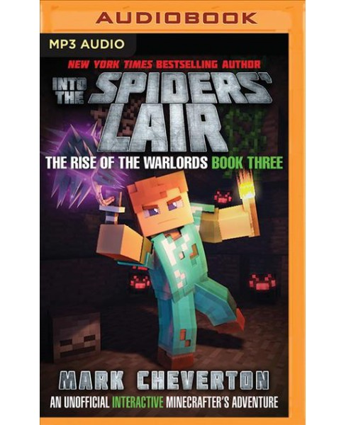 Into the Spiders' Lair : An Unofficial Minecrafter's Adventure (MP3-CD) (Mark Cheverton) - image 1 of 1