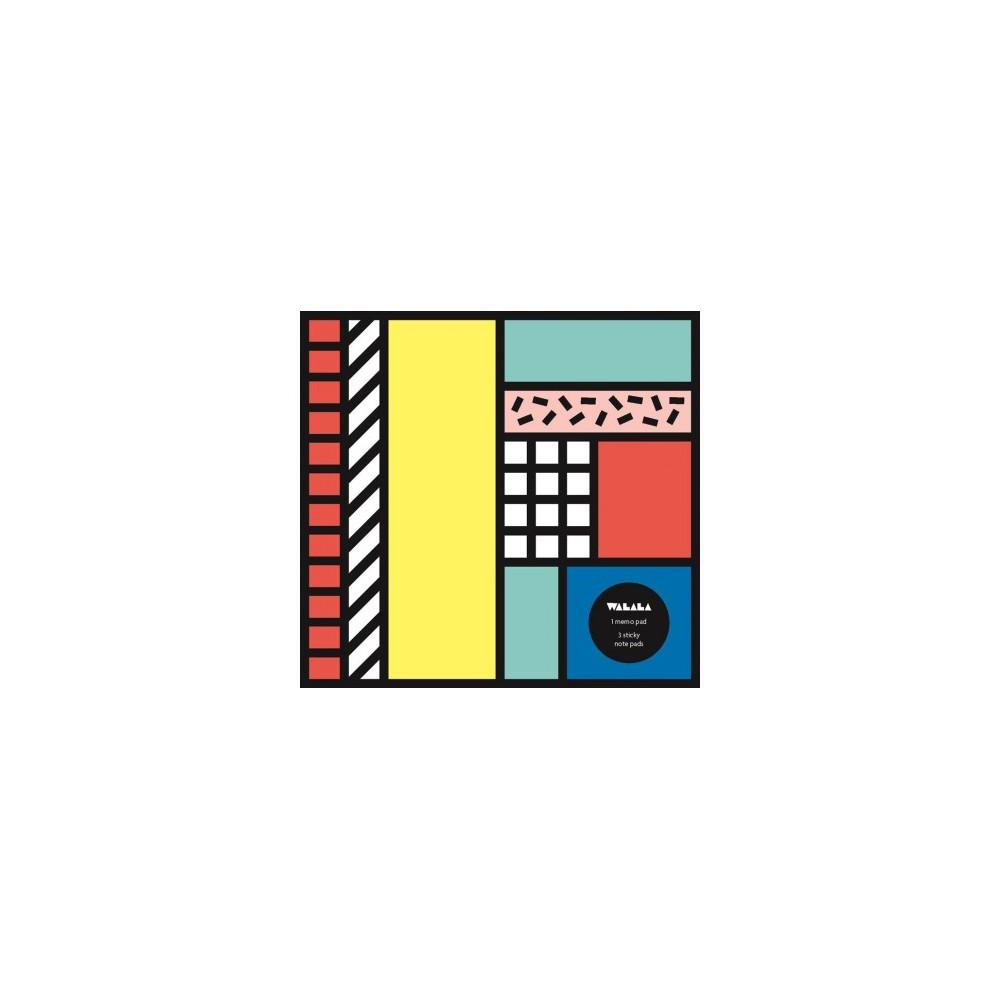 Tribal Pop Art Memo Pad - (Stationery)