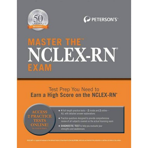 Master the Nclex-RN Exam - (Paperback) - image 1 of 1