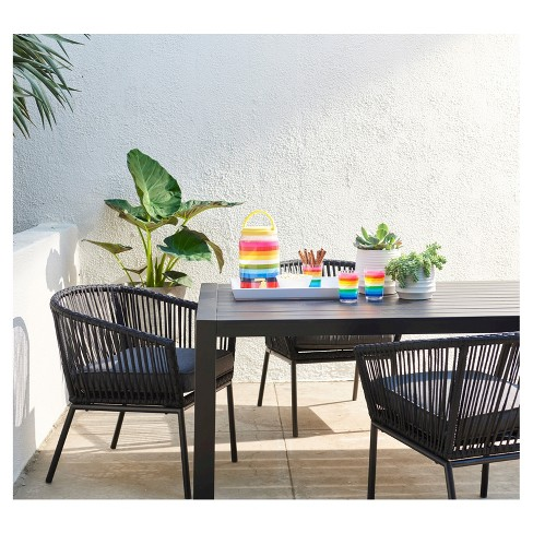 standish slat top patio dining table project 62 target