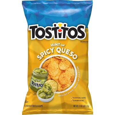 Tostitos Hint of Spicy Queso Bite Size - 12oz