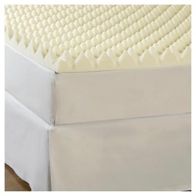 ComforPedic Loft from Beautyrest 3  Big Bump Memory Foam Topper - White (Queen)