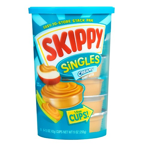 Skippy® Singles Creamy Peanut Butter - 1.5oz/6ct - image 1 of 1