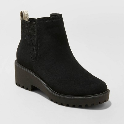 Women's Taci Pull-On Ankle Boots - Universal Thread™