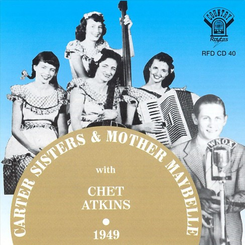Carter sisters - Carter sisters mother maybelle and ch (CD) - image 1 of 1