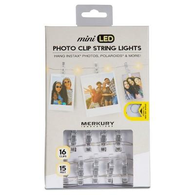 Merkury Mini LED Photo Clip String Lights - White (MI-FCCT2-925)