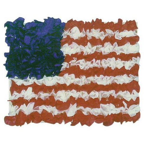 Hygloss American Flag Tissue Kit for 10 Flags, 8 x 6 Inches - image 1 of 1