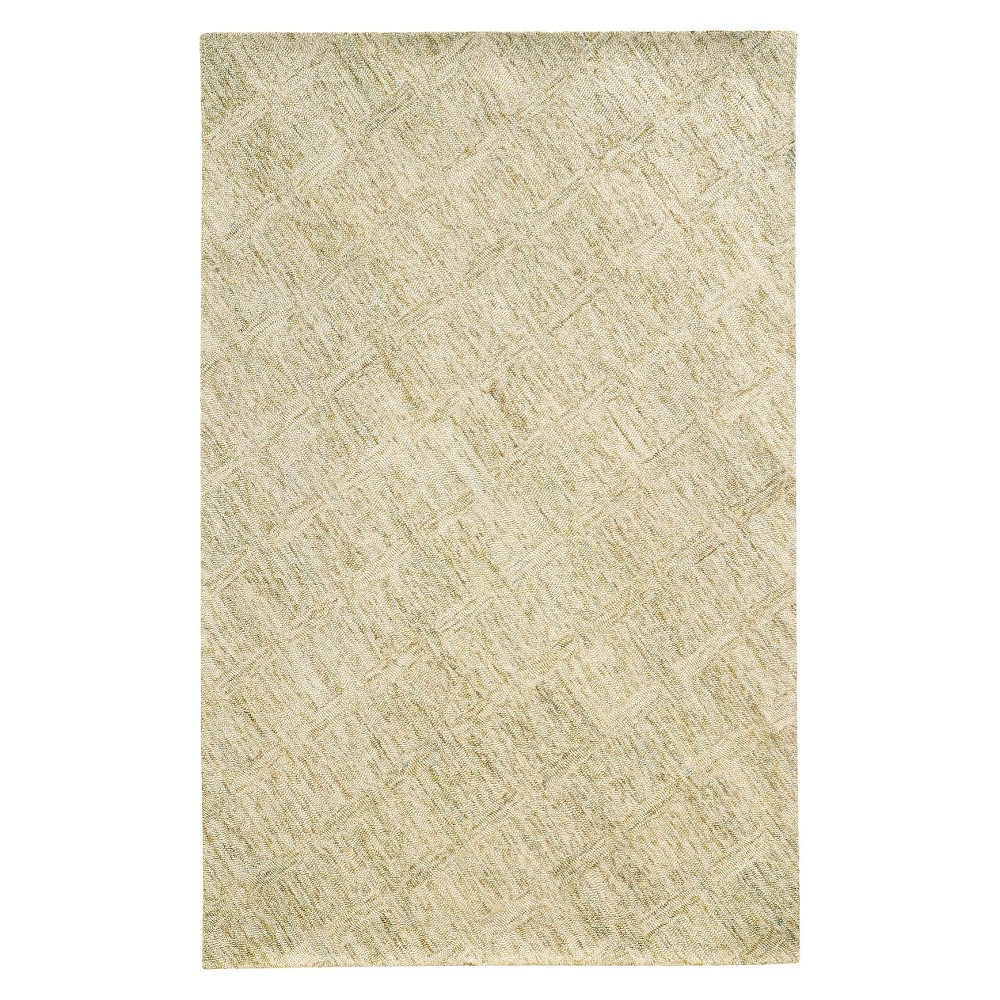 Pantone Colorscape 42109 100% Wool Accent Rug - Cream (Ivory) (3'5