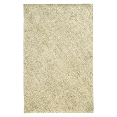 Pantone Colorscape 42109 100% Wool Area Rug - Cream (8'x10') - image 1 of 1