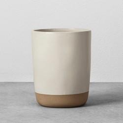 Stoneware Utensil Holder Cream - Hearth & Hand™ with Magnolia