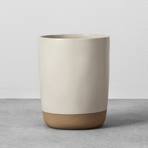 Stoneware Utensil Holder Cream - Hearth & Hand™ with Magnolia