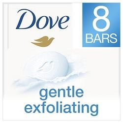 Dove Gentle Exfoliating Beauty Bar - 4oz/8ct