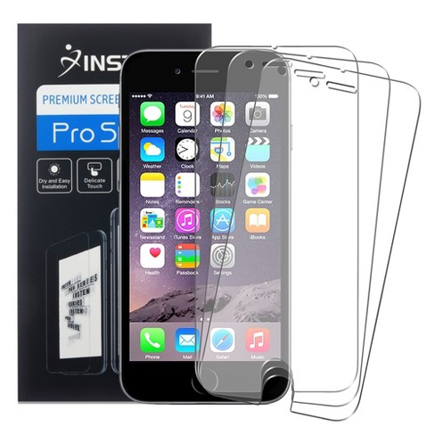 INSTEN 3-piece Set Anti-Glare Screen Protector compatible with Apple iPhone 6 Plus/6s Plus - image 1 of 3