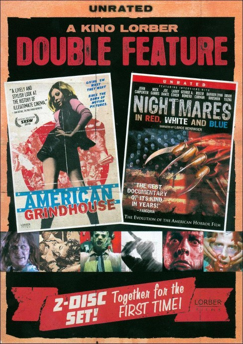 American grindhouse/Nightmares in red (DVD) - image 1 of 1