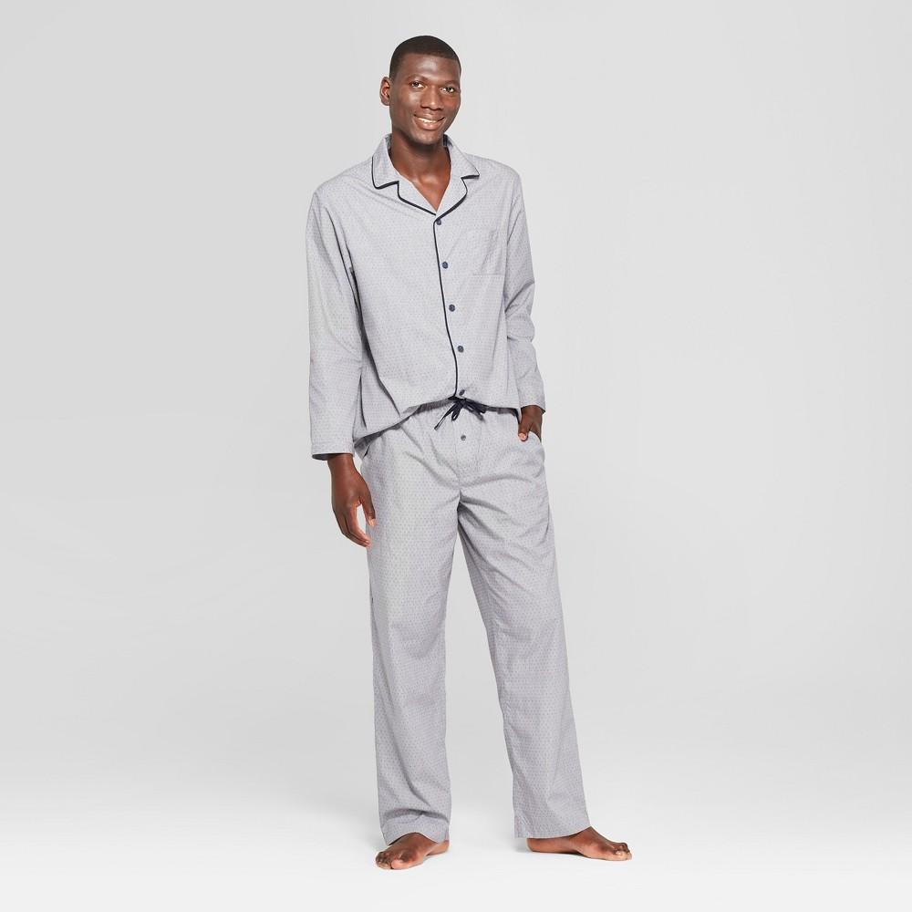 Men's Polka Dot Woven Pajama Set - Goodfellow & Co Zodiac Night XL