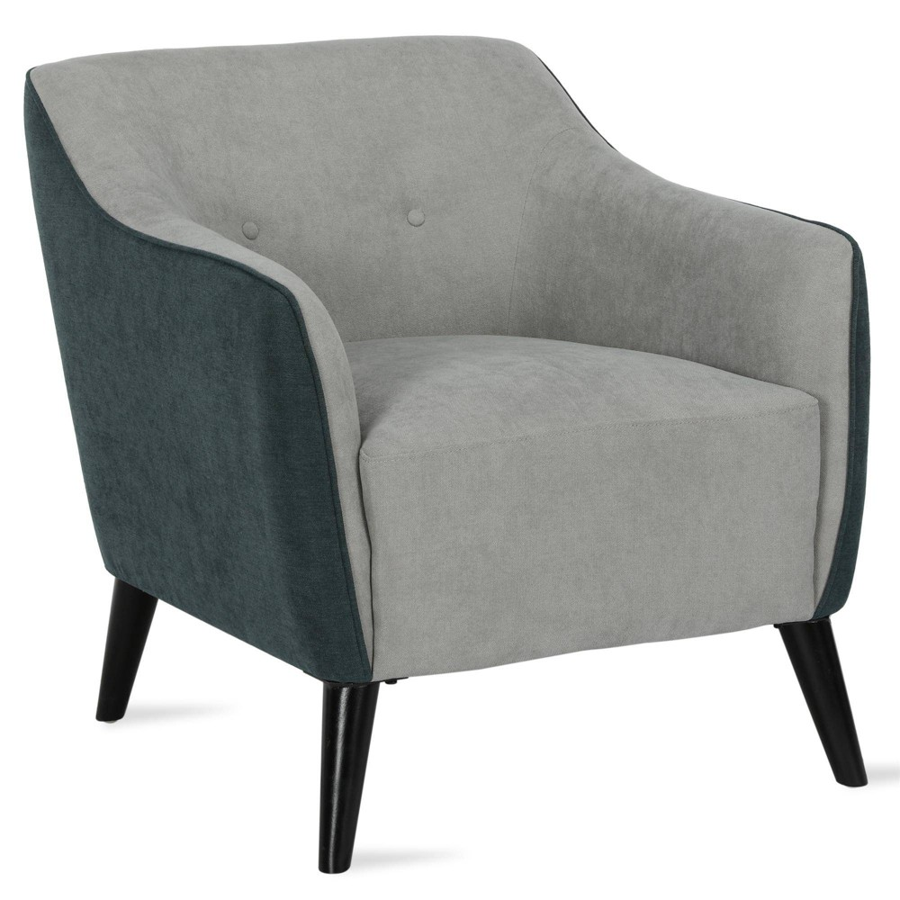 Image of 2 Tone Dalston Accent Chair Gray - Dorel Living