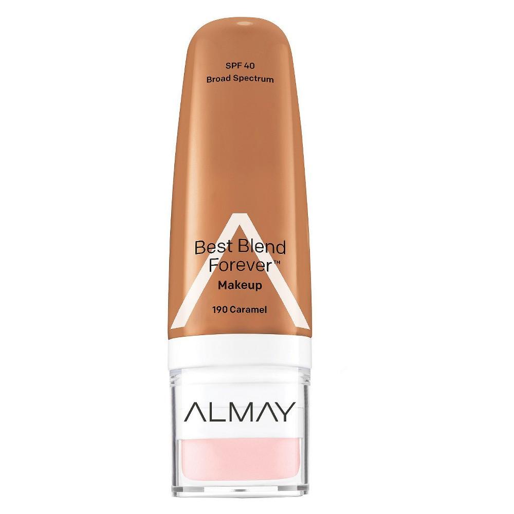 Image of Almay My Best Blend Forever Makeup 190 Caramel - 1 fl oz