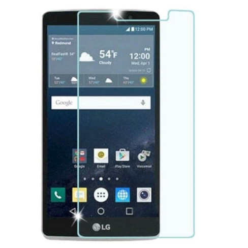 ASMYNA Clear Tempered Glass LCD Screen Protector Film Cover For LG G Stylo LS770 - image 1 of 1