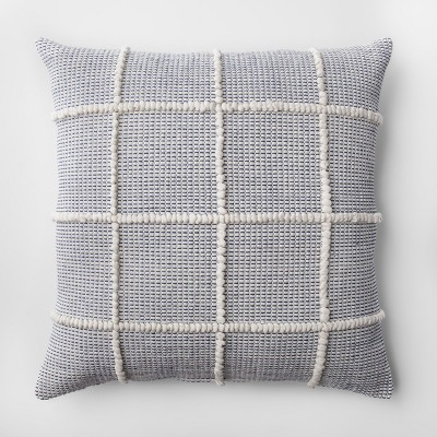 Oversized Textured Throw Pillow - Blue - Project 62™