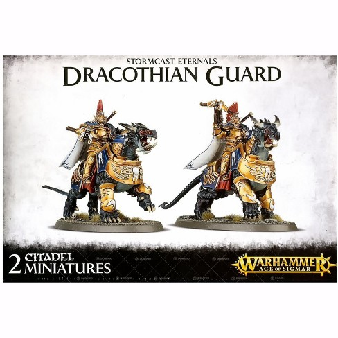 Warhammer Age of Sigmar Stormcast Eternals Dracothian Guard Miniature - image 1 of 2