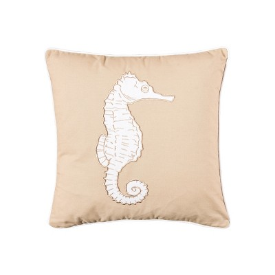 C F Home Seaside Seahorse Pillow Target