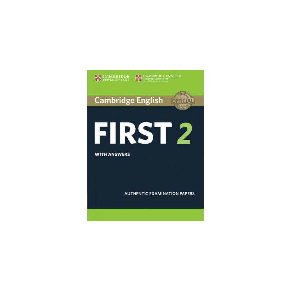 Cambridge English First 2 With Answers : Authentic Examination Papers (Student) (Paperback)