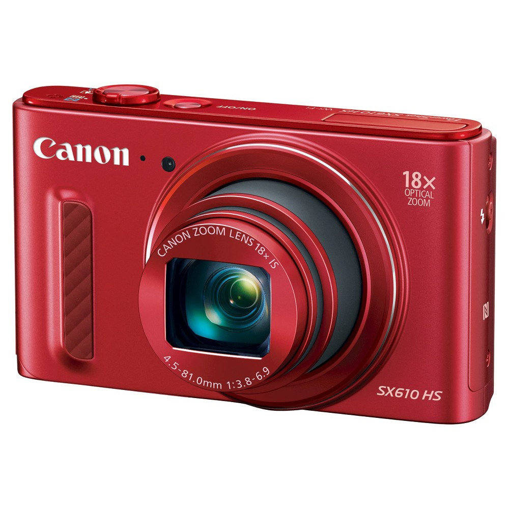 Canon PowerShot SX610 HS, Red