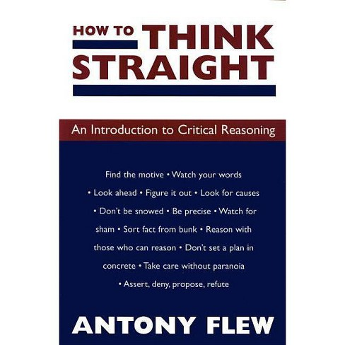 How to Think Straight - 2 Edition by  Antony Flew (Paperback) - image 1 of 1