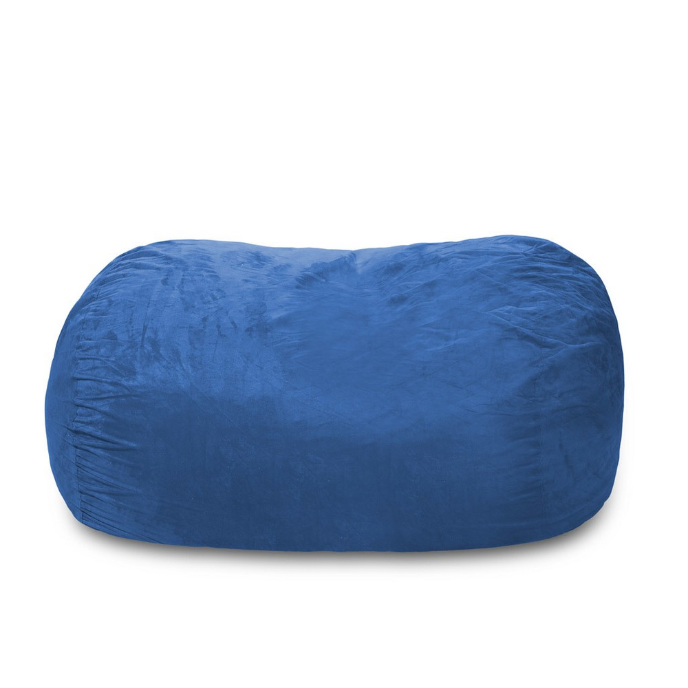6ft Microsuede Lounger Royal Blue - Relax Sacks