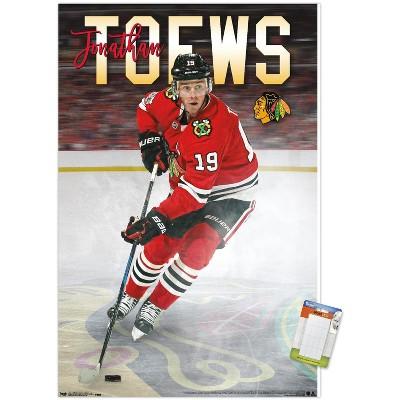 Trends International NHL Chicago Blackhawks - Jonathan Toews 17 Unframed Wall Poster Prints