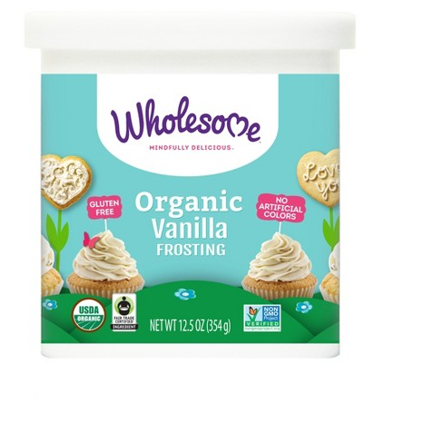 Wholesome® Organic Gluten Free Vanilla Frosting - 12.5oz - image 1 of 1