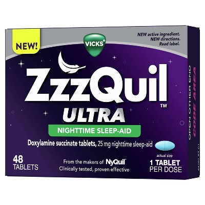 ZzzQuil Ultra Sleep Aids Tablets - 48ct