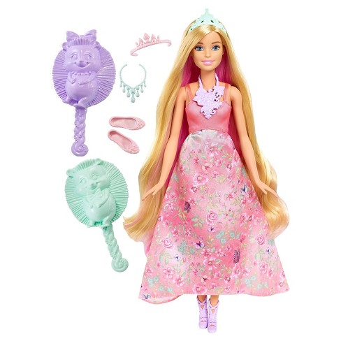 Barbie Dreamtopia Color Stylin' Princess Doll - Pink - image 1 of 8