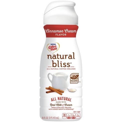 Coffee Mate Natural Bliss Cinnamon Cream Coffee Creamer - 1pt - image 1 of 4