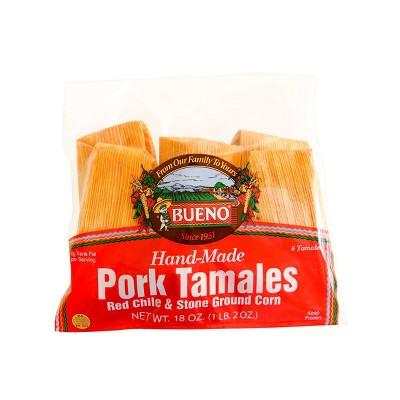 Bueno Frozen Pork Tamales - 18oz