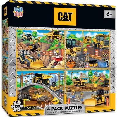 MasterPieces Inc Caterpillar 4-Pack 100 Piece Jigsaw Puzzles