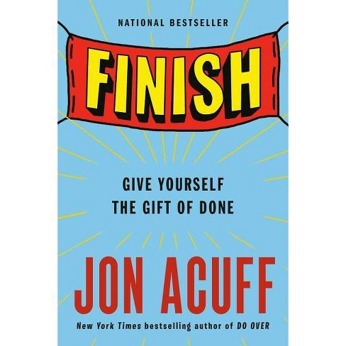 Finish - by  Jon Acuff (Paperback) - image 1 of 1