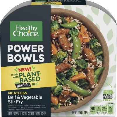 Healthy Choice Frozen PowerBowl w Gardein B'eef & Veg Stir Fry - 9.25oz