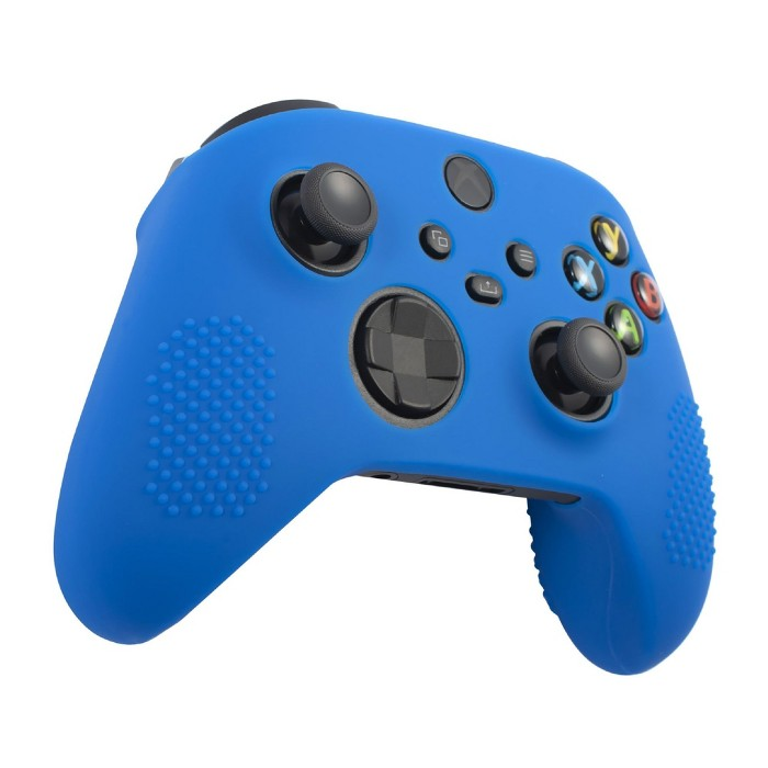 Insten Controller Silicone Grip Case Compatible With Xbox Series X/S, Protective Cover, Blue : Target