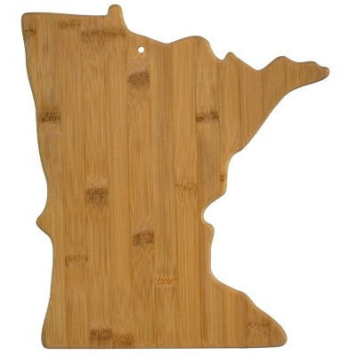 Totally Bamboo Minnesota State Cutting Board 13.25  x 11.75