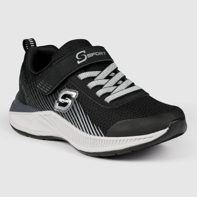 Boys' S Sport by Skechers Xandor Apparel Sneakers - Black/White
