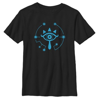 Boy's Nintendo Zelda Breath of the Wild Eye T-Shirt