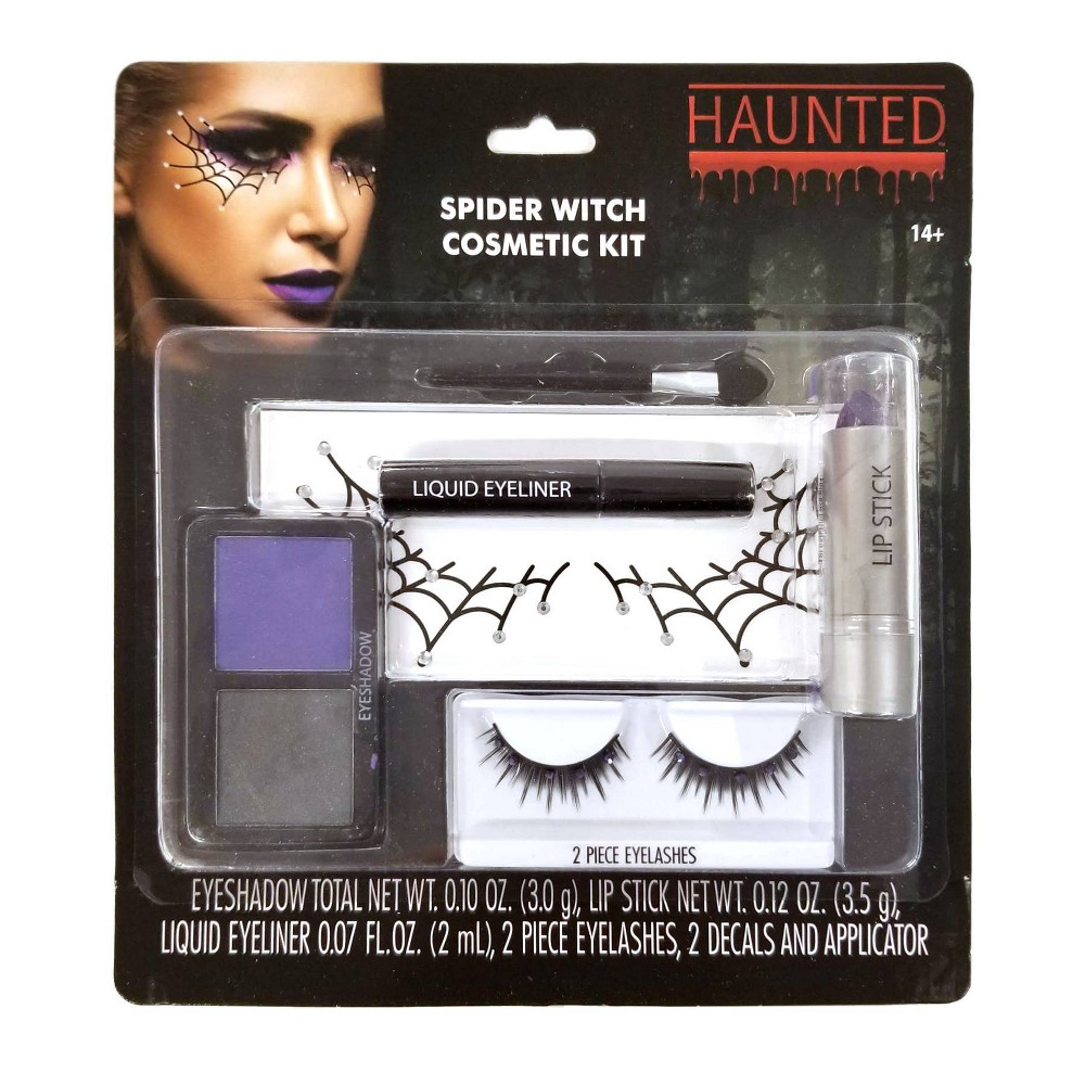 Image of Haunted Halloween Cos Kit Spider Witch - 1ea