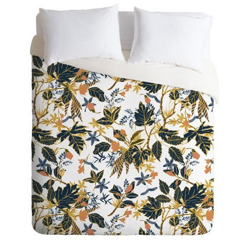 Marta Barragan Camarasa Autumnal Nature Duvet Set - Deny Designs - image 1 of 2