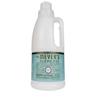 Mrs. Meyers Basil Scent Fabric Softener - 32 fl oz